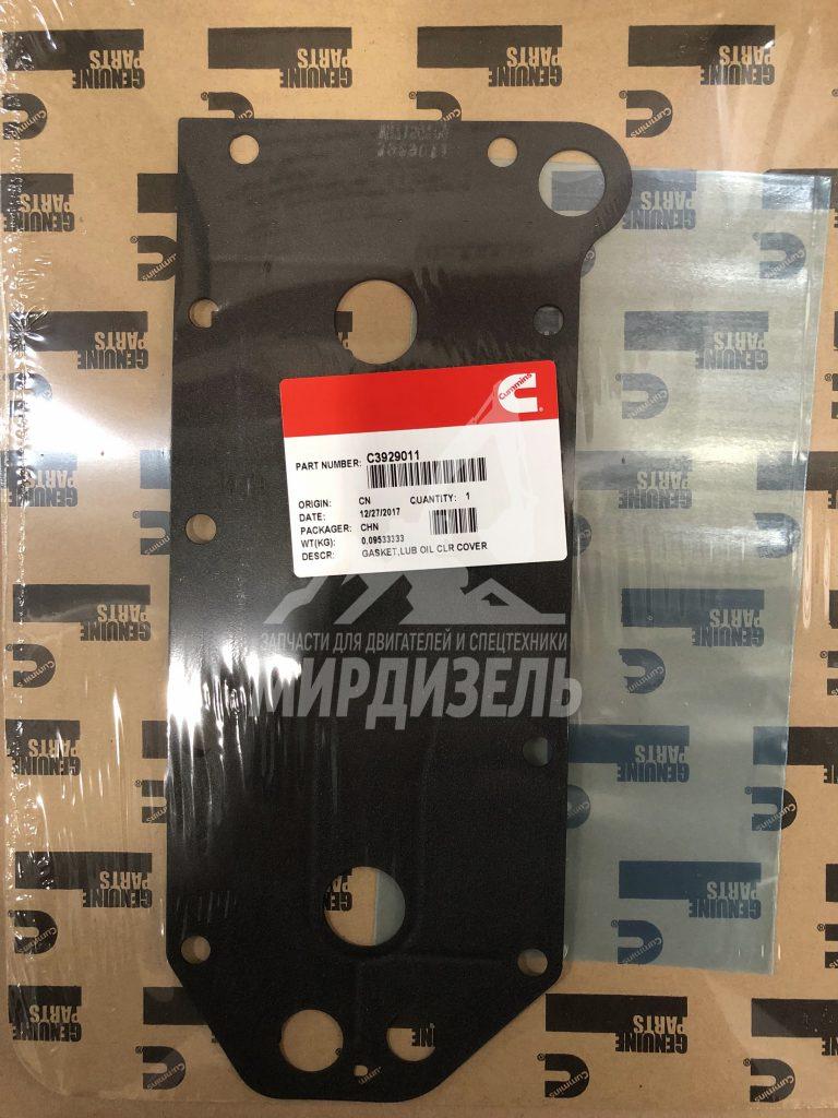 Прокладка маслоохладителя (теплообменника) 3929011