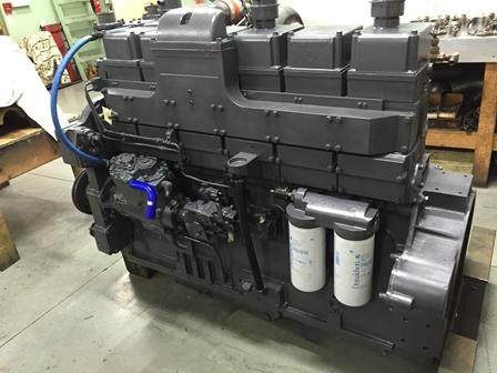 ремонт дизельного двигателя cummins камминс kta 19