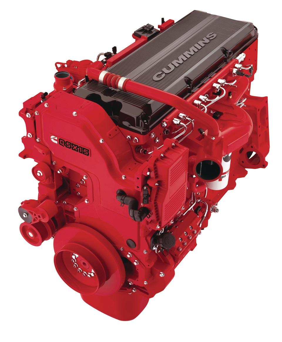 ремонт дизельного двигателя cummins камминс qsx 15