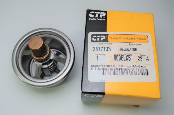 Термостат для Caterpiller (Катерпиллер), номер запчасти 247-7133, 2477133