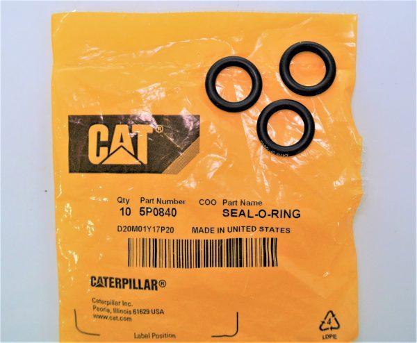 О-кольцо для Caterpiller (Катерпиллер), номер запчасти 5P-0840 5P0840