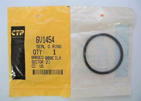 О-кольцо для Caterpiller (Катерпиллер), номер запчасти 6V-1454, 6V1454