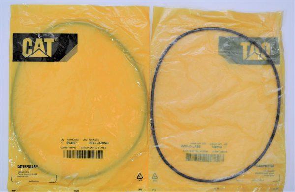 Уплотнение крышки масляного фильтра для Caterpiller (Катерпиллер), номер запчасти 6V-3907, 6V3907