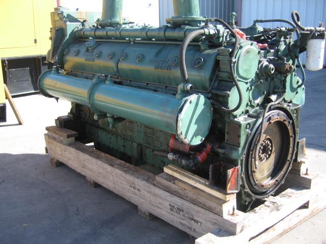 16V149 ремонт двгателя detroit diesel