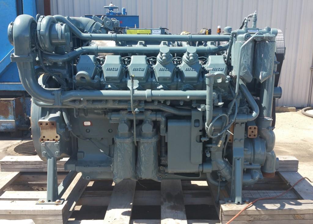 MTU 12V2000 ремонт двигателя