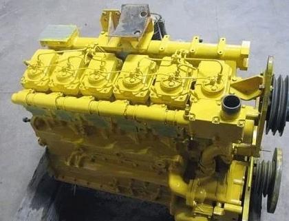 S6D125-1 komatsu ремонт двигателя