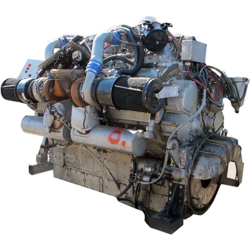 detroit diesel 12v149 ремонт двигателя