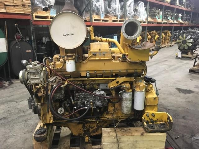 komatsu S6D140 ремонт двигателя