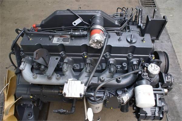 komatsu s6d114 ремонт двигателя