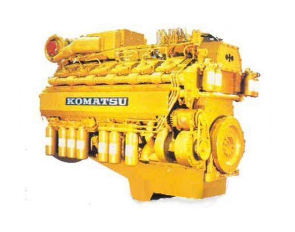 komatsu S6D155 ремонт дизельного двигателя