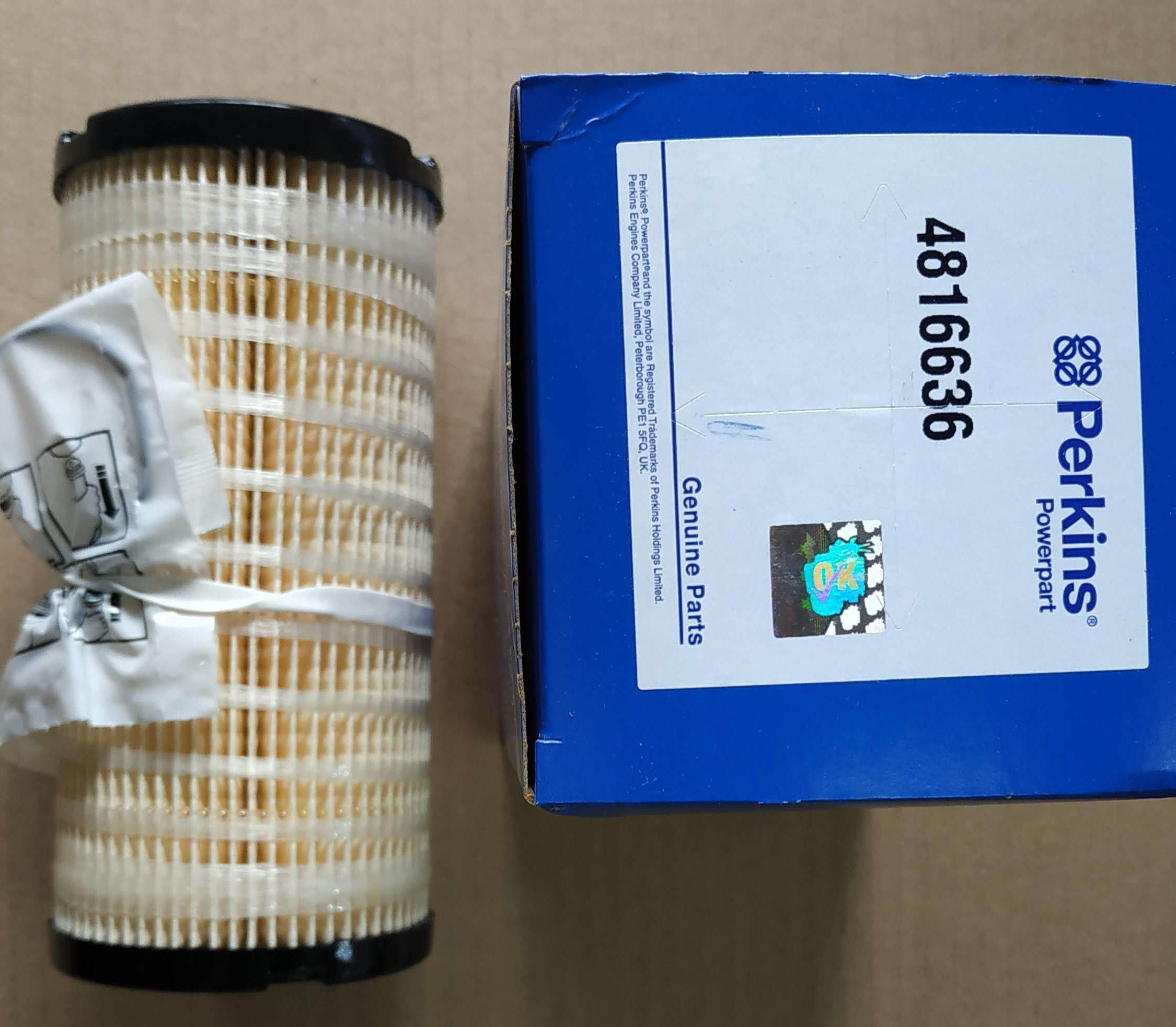 Фильтр топливный 4816636 для Perkins (Перкинс)